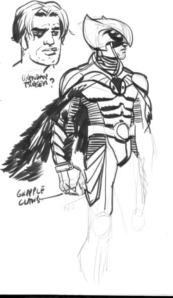 A Duncan Fegredo design for Hawk-Owl.