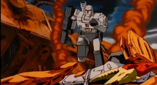 Optimus Prime vs Megatron HD Transformers The Movie 1986 - YouTube (1)