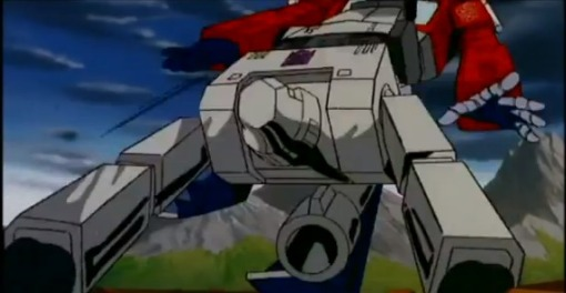 Optimus Prime vs Megatron HD Transformers The Movie 1986 - YouTube (14)