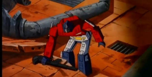 Optimus Prime vs Megatron HD Transformers The Movie 1986 - YouTube (15)