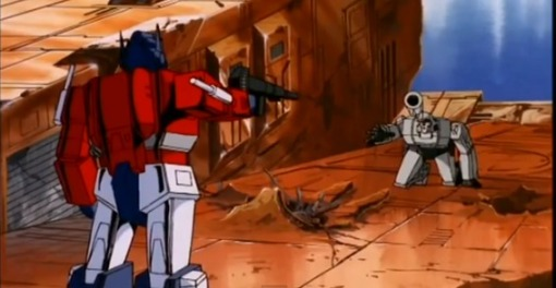 Optimus Prime vs Megatron HD Transformers The Movie 1986 - YouTube (19)