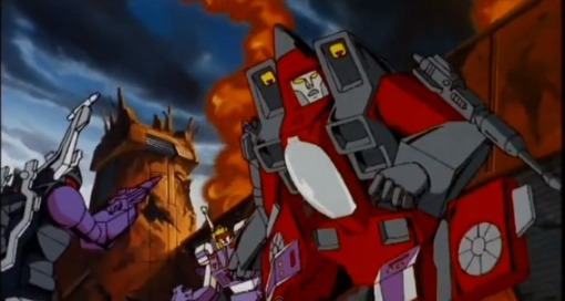 Optimus Prime vs Megatron HD Transformers The Movie 1986 - YouTube (2)