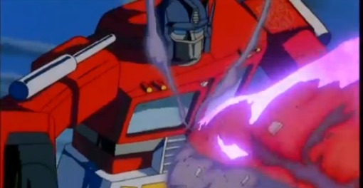 Optimus Prime vs Megatron HD Transformers The Movie 1986 - YouTube (24)