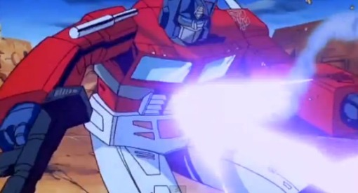 Optimus Prime vs Megatron HD Transformers The Movie 1986 - YouTube (25)