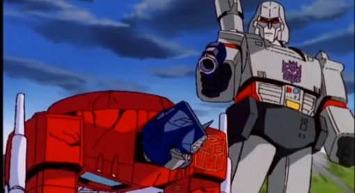 Optimus Prime vs Megatron HD Transformers The Movie 1986 - YouTube (26)