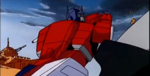 Optimus Prime vs Megatron HD Transformers The Movie 1986 - YouTube (29)