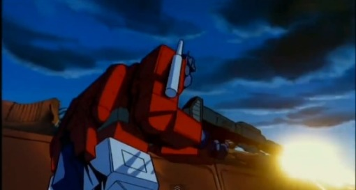 Optimus Prime vs Megatron HD Transformers The Movie 1986 - YouTube (6)