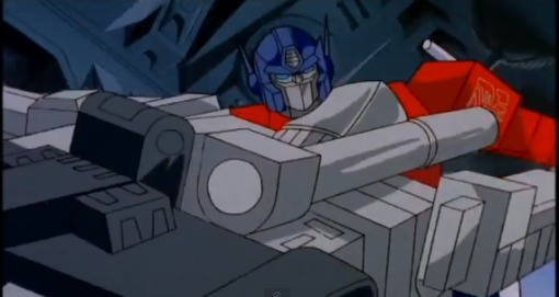Optimus Prime vs Megatron HD Transformers The Movie 1986 - YouTube (7)